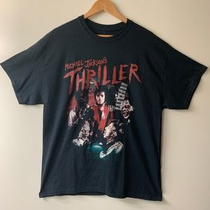 Michael Jackson Thriller Graphic T-Shirt - New